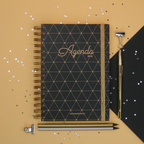 Agenda 2019 Semanal Prestige Kit Oferta