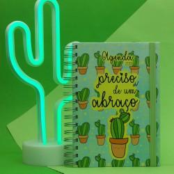 Agenda 2019 Semanal Preciso de um Abraço Kit de Oferta