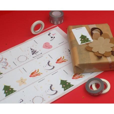 Etiquetas de natal