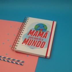 """Livro A5 Espiral """"Para mim es o Mundo"""""""