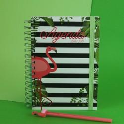 Agenda Flamingo Pequena
