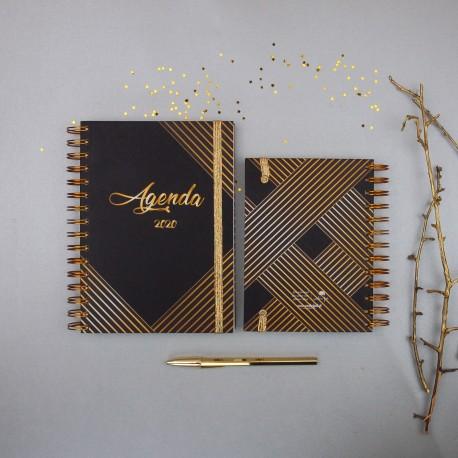 "Agenda A6 Semanal 2020 ""Prestige"" Kit Oferta"