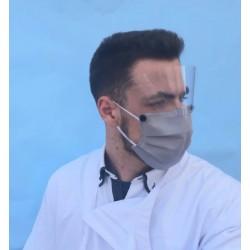 Máscara Reutilizável com Viseira Removível