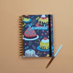 Caderno de Encomendas A5