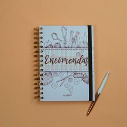 Caderno de Encomendas Costura A5