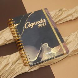 "Agenda A6 Semanal ""BRAGANÇA"" Kit Oferta"