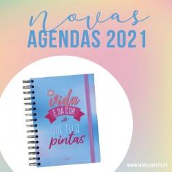 "Agenda Diária A5 ""PORTUGAL"" - KIT OFERTA"