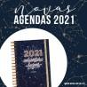 """Agenda DIÁRIA  2021 """" CONSTELAÇÃO """"A5 - KIT OFERTA"""