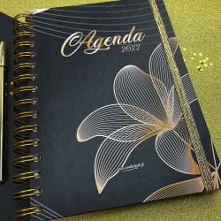 "Agenda Semanal A5 ""Ponte Lima"" - KIT OFERTA"