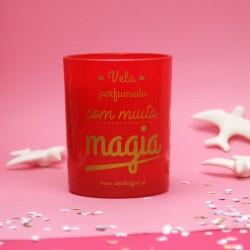 """Vela Perfumada""""com muita magia"""""""