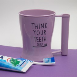 Copo de Escova de Dentes Rosa
