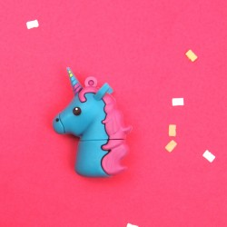 "Pen ""Unicornio"" Azul/Rosa"