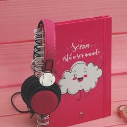 """Livro A5 """"Sorria Esta a ser amado"""""""